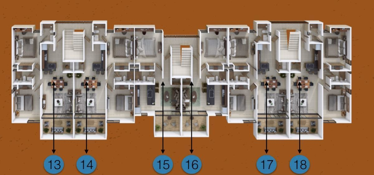 12 de 15: Nivel 2 edificio derecha