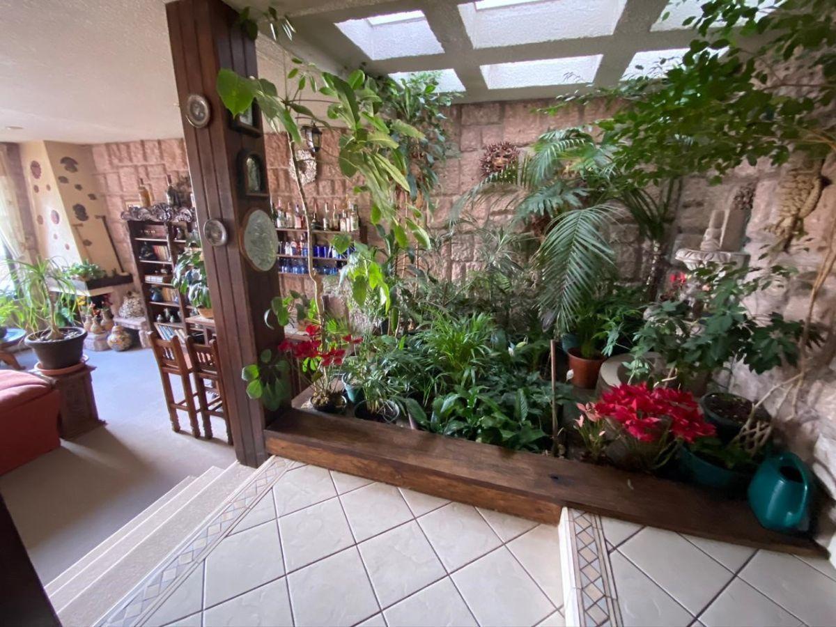 6 de 26: Jardín interior
