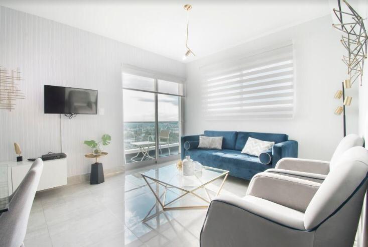 1 de 34: Apartamento moderno 2 dormitorios santiago