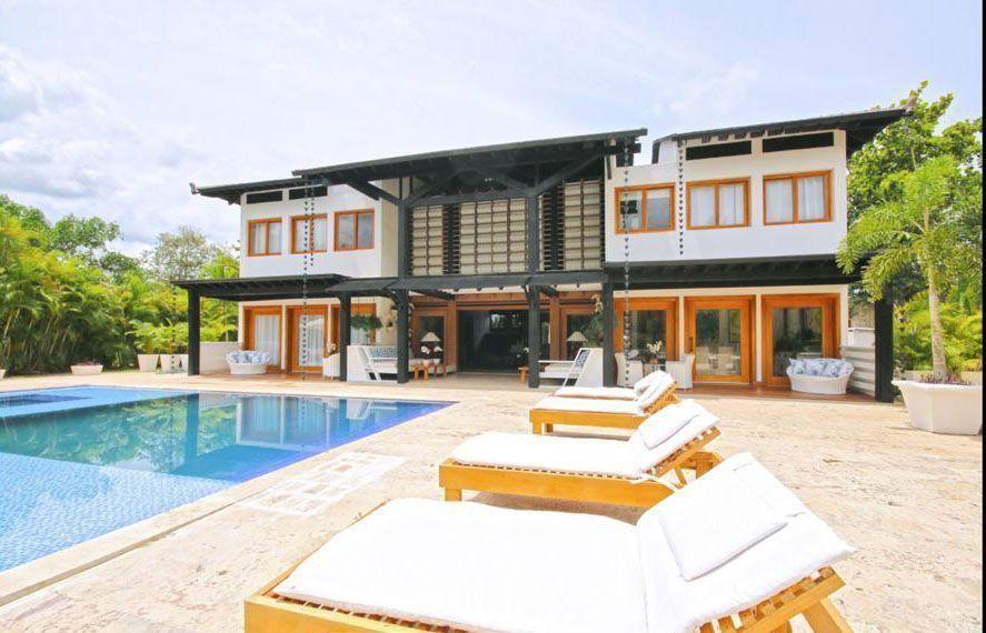 1 de 22: Villa en casa de campo 5 dormitorios decoración moderna
