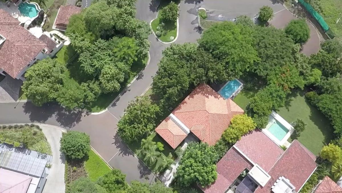 31 of 32: Aerial View of home