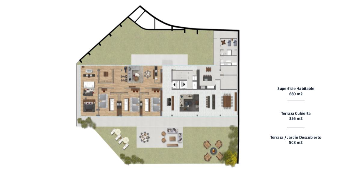 9 de 9: GARDEN HOUSE - planta