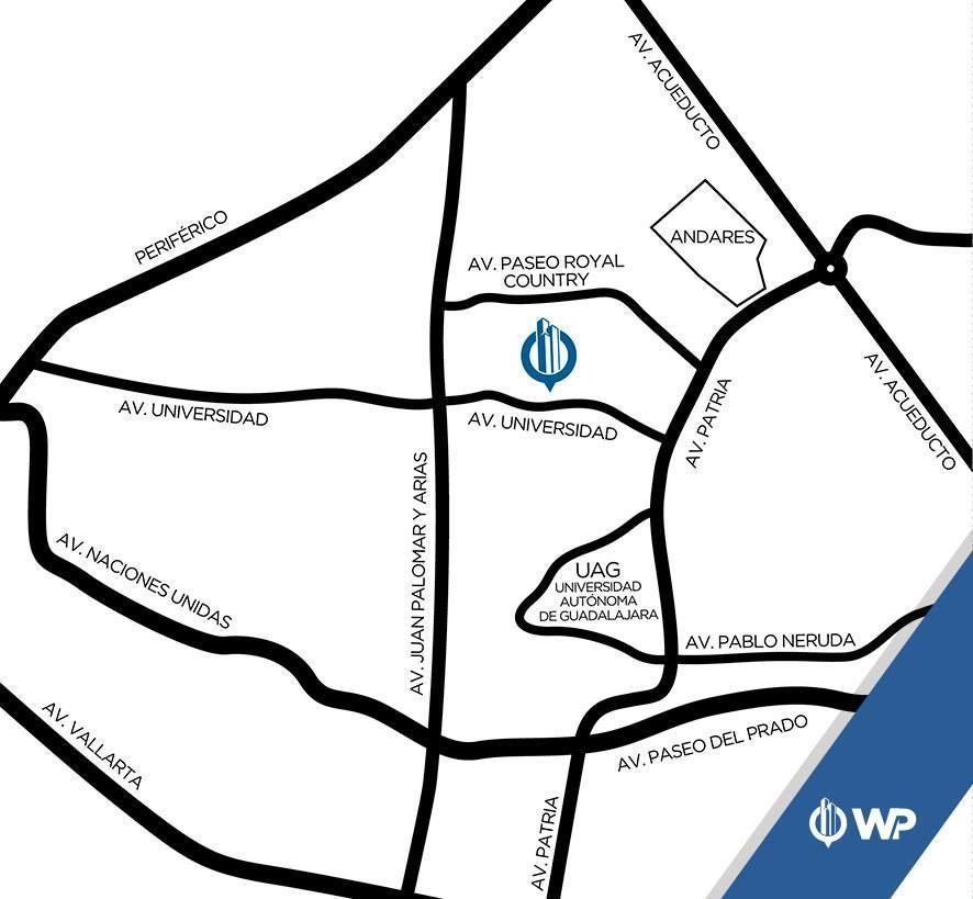 26 de 43: Ubicación departamento Ave. Universidad 1000 Puerta Plata,