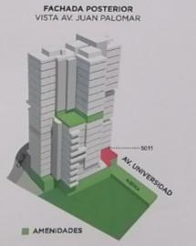 30 de 43: Ubicación departamento en torre 5000