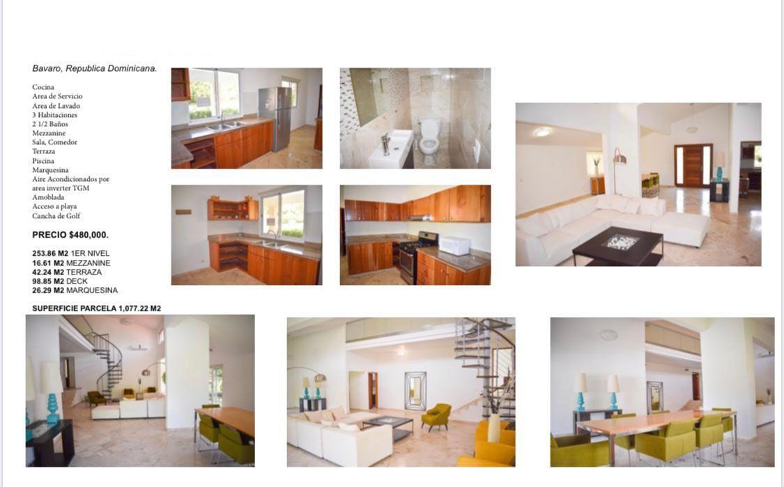 19 de 20: Villa en alquiler y venta cocotal  3 dormitorios