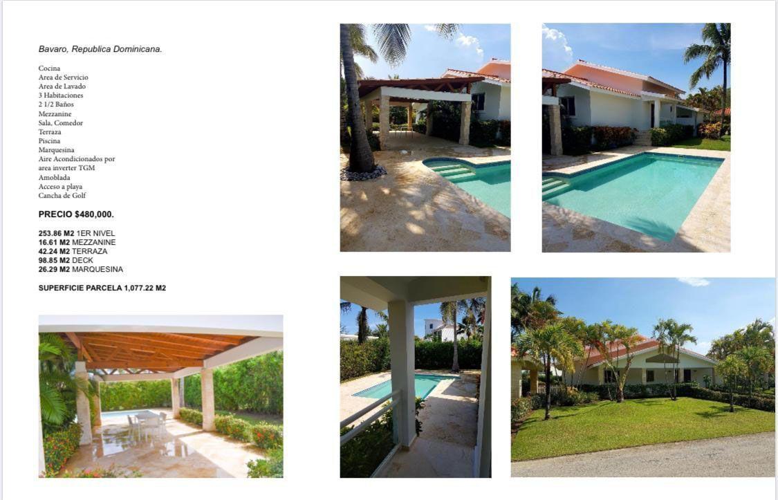 20 de 20: Villa en alquiler y venta cocotal  3 dormitorios