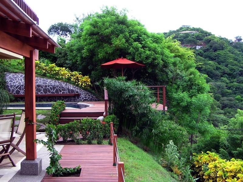 3 of 20: House garden