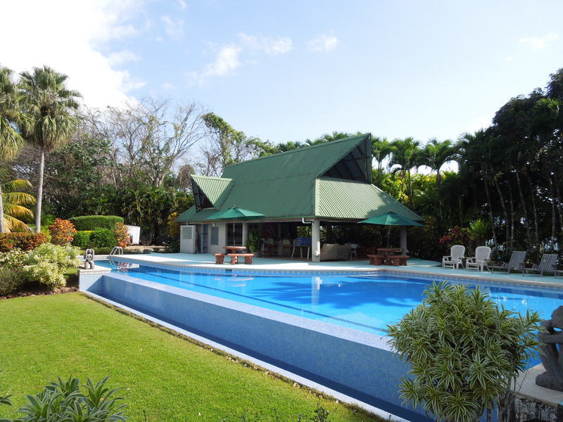 5 of 20: Large swimming pool with lap section.