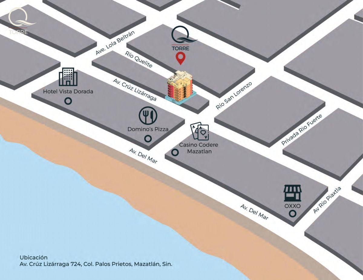 3 de 15: Ubicado a 1 cuadra del Malecón de Mazatlan.