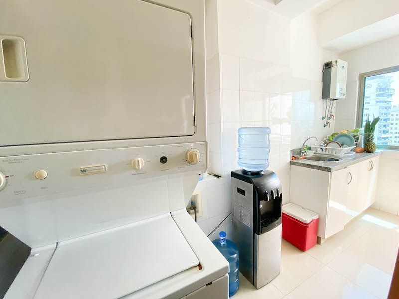 14 de 15: Área de lavado