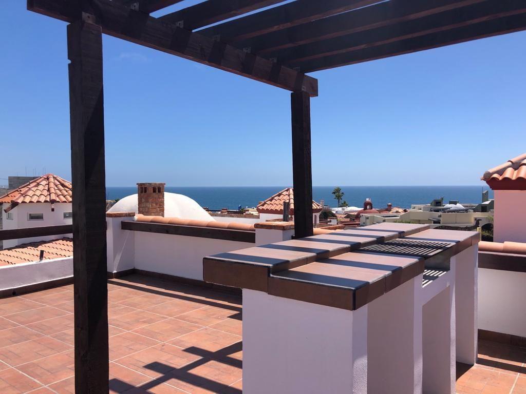 2 de 6: Espectacular terraza con vista al mar
