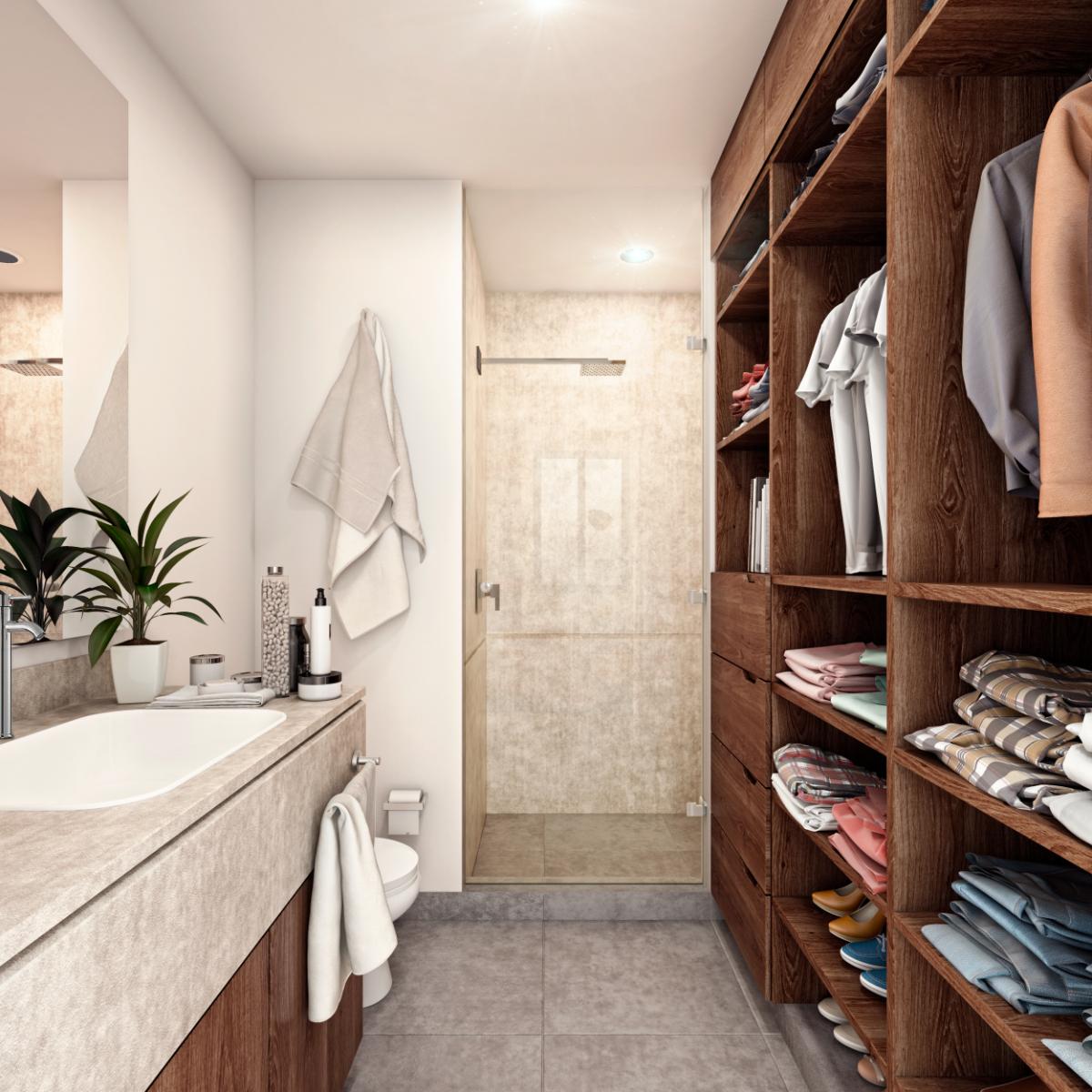 11 de 11: Con baño y closet vestidor