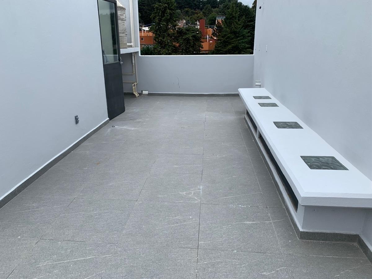 15 de 23: Área ideal para roof garden o roof deck