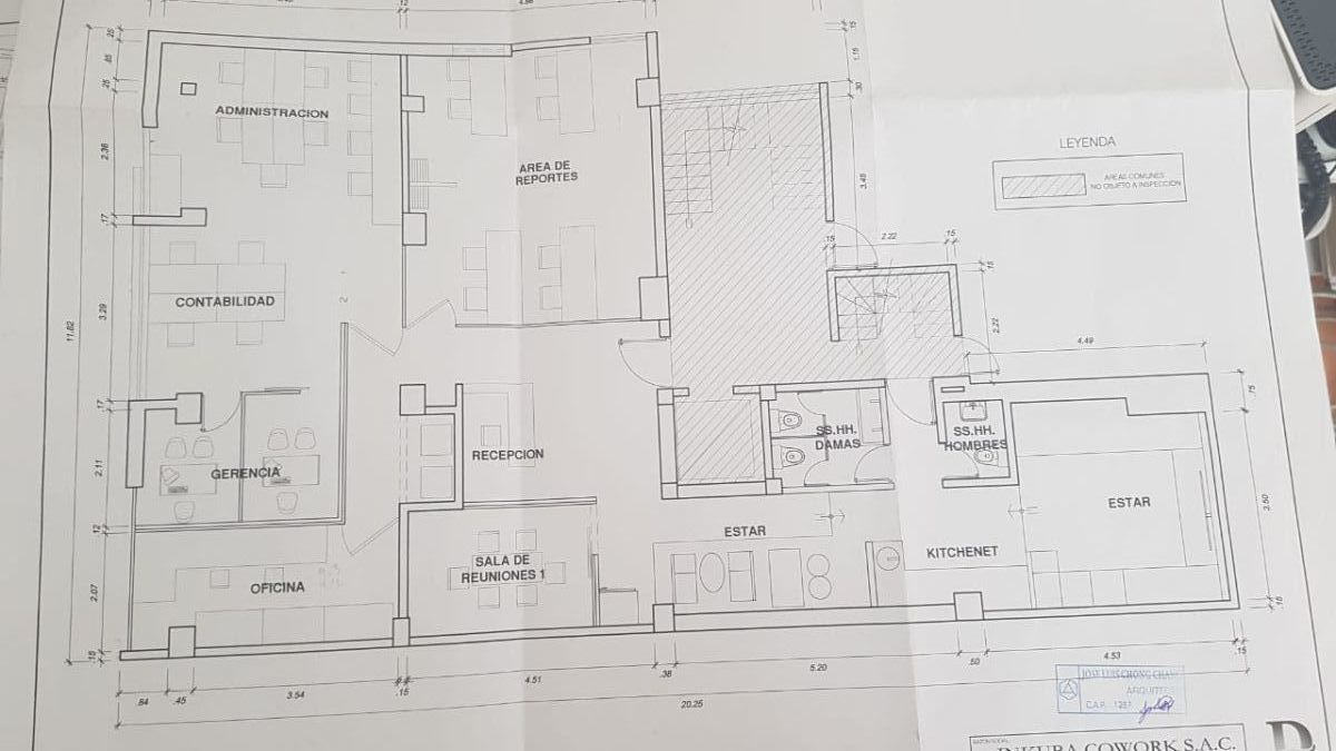 16 de 20: Plano de la Oficina