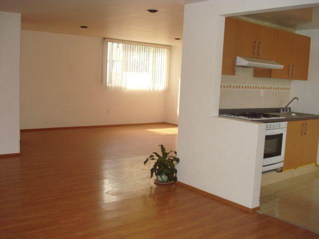 1 de 10: Vista de la cocina, comedor y sala