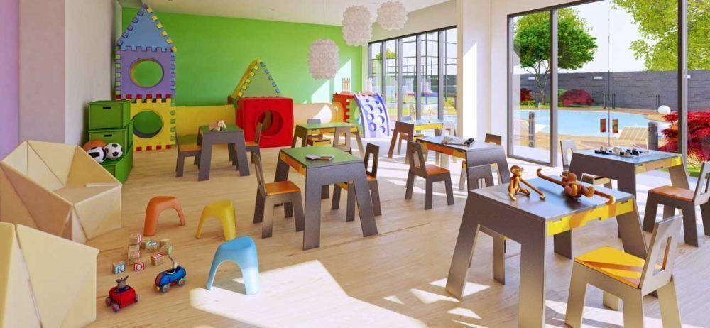 8 de 13: salón de juegos infantiles