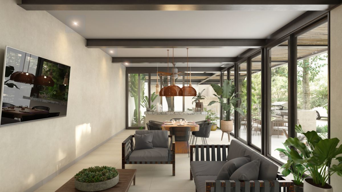 9 de 9: Interior Casa Club