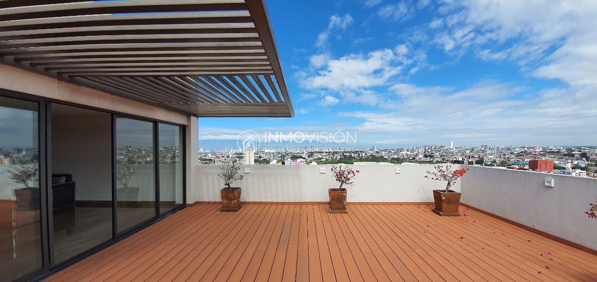 25 de 41: Roof garden con vista panorámica