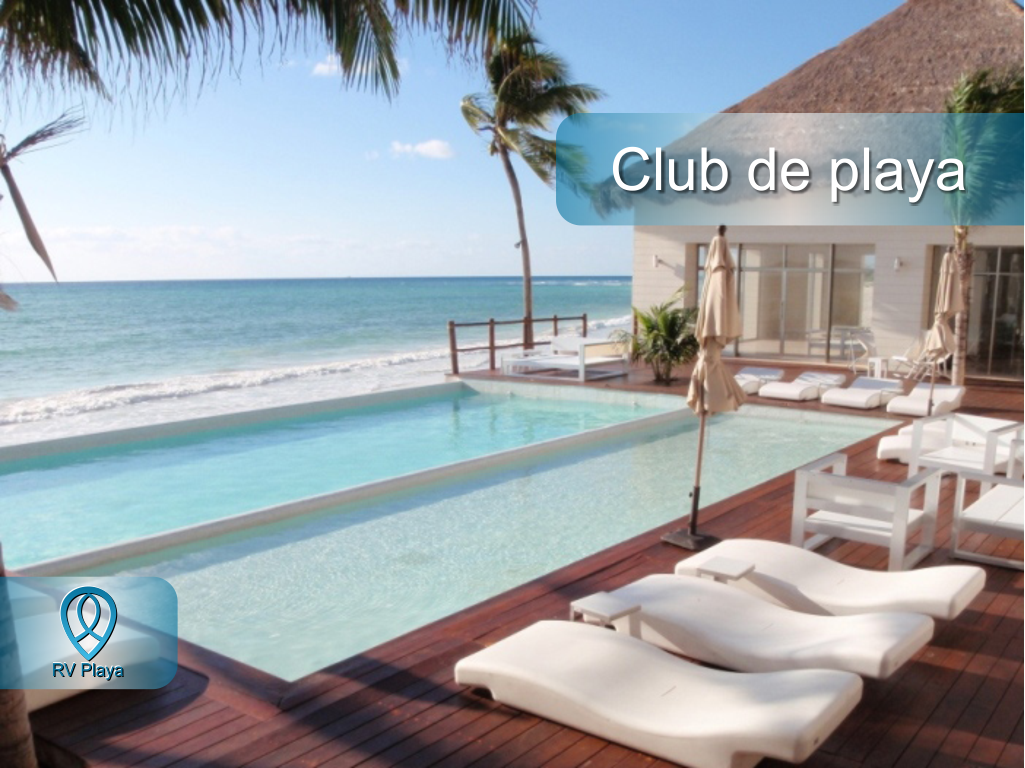 16 de 18: Beach club