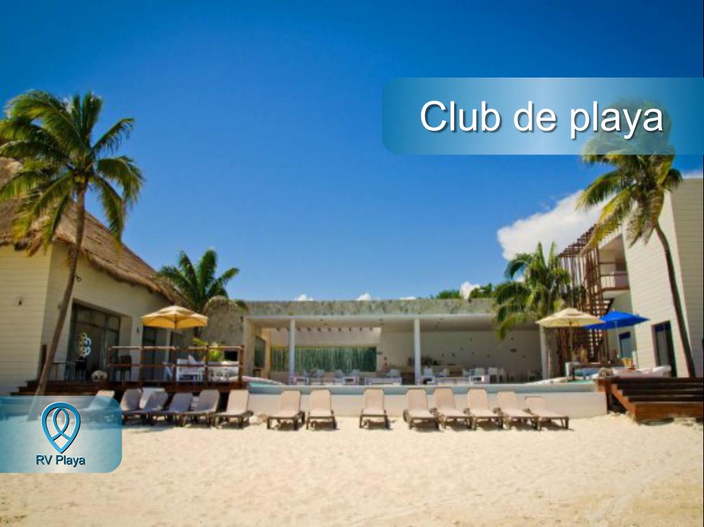 17 de 18: Beach club
