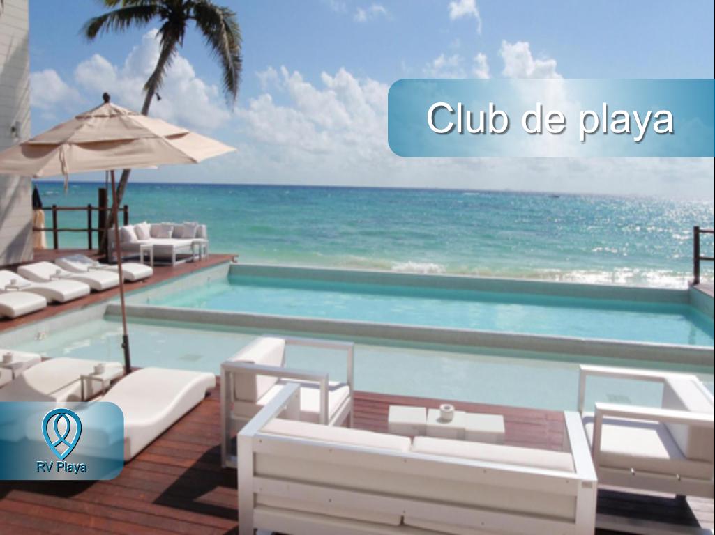 18 de 18: Beach club