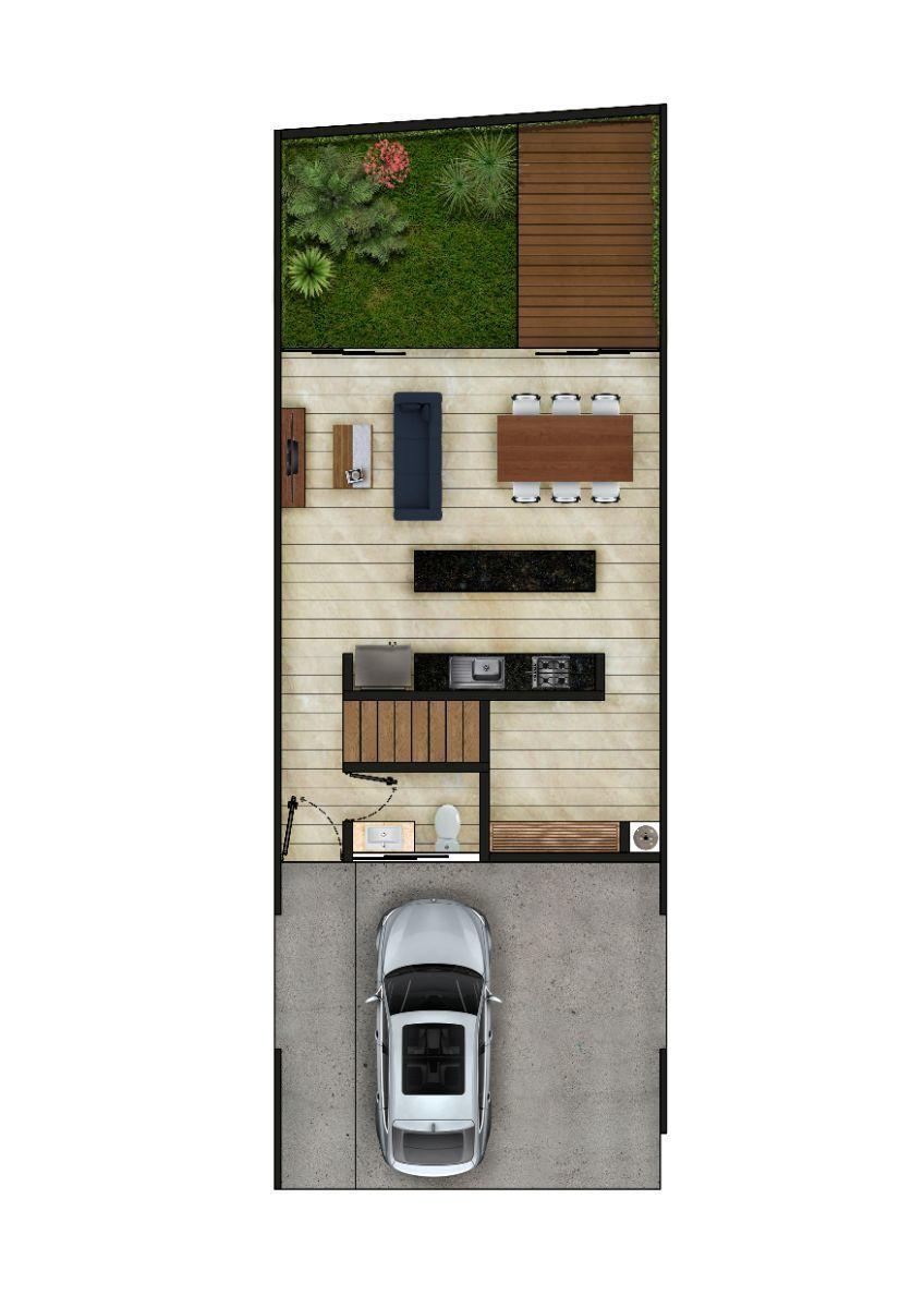 6 de 8: Townhouse Preventa en Temozón al Norte de Mérida