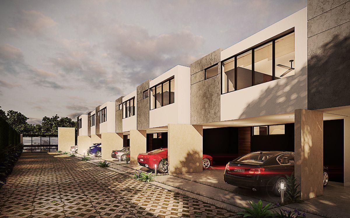 2 de 8: Townhouse Preventa en Temozón al Norte de Mérida