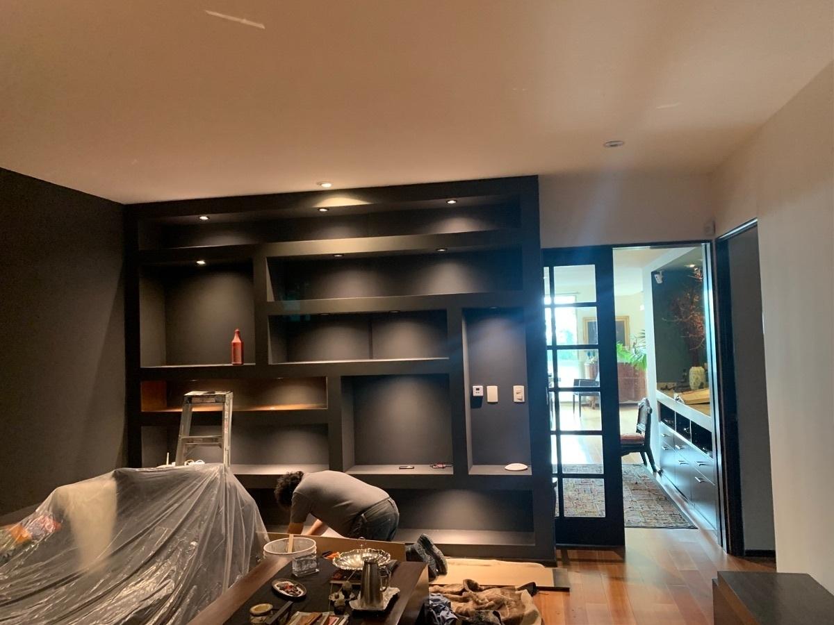 44 de 45: Muebles empotrados modernos en Sala TV