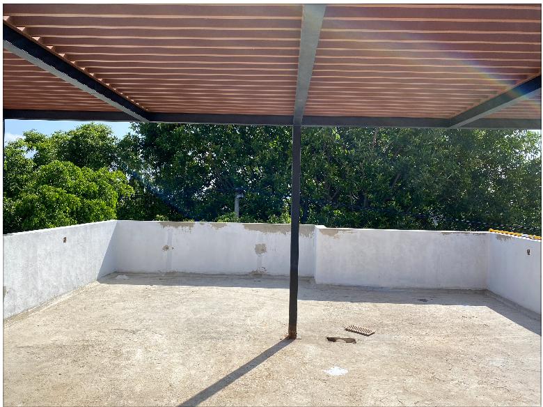 6 de 18: Roof Garden Pergolado