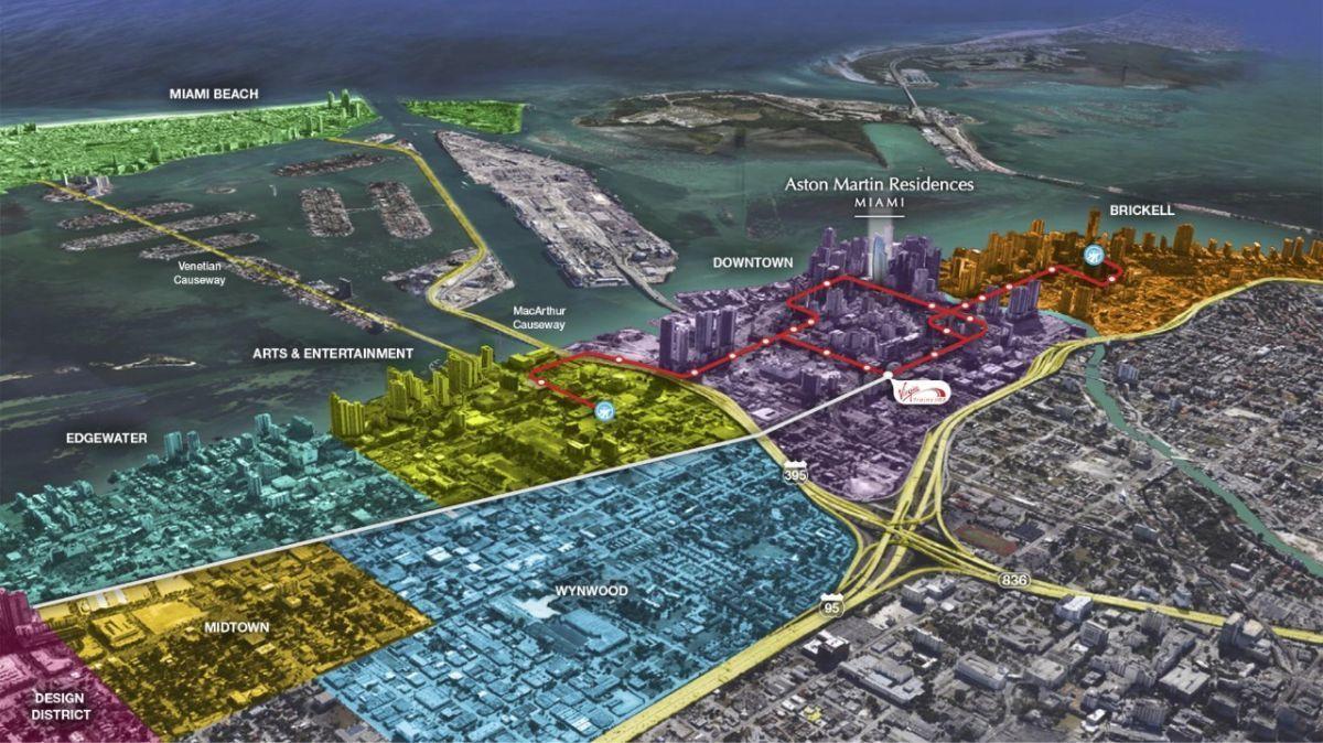 6 de 22: Departamento en Venta, Miami,  ASTON MARTIN Chichen Realty