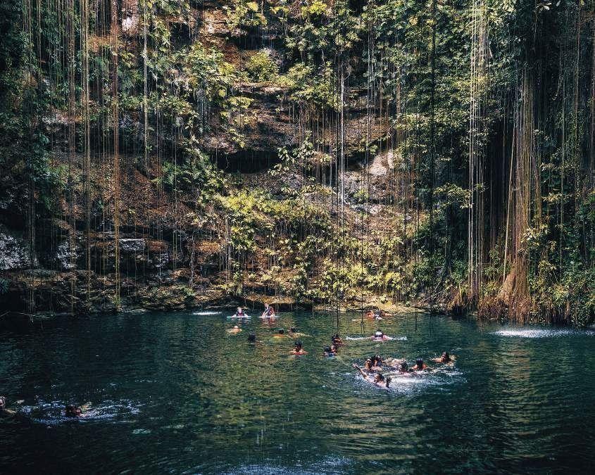 11 de 24: Cenote