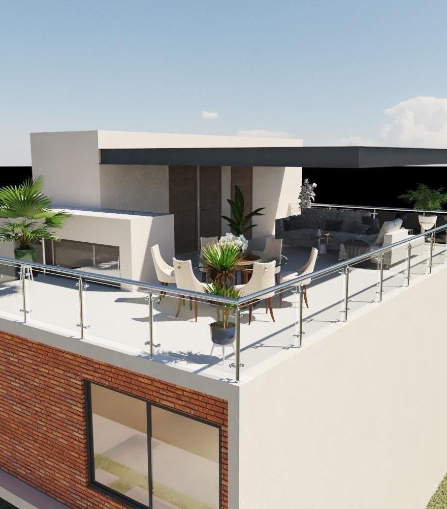 8 de 12: Hermosa y Moderna casa Residencial - La Concepción - Pachuca