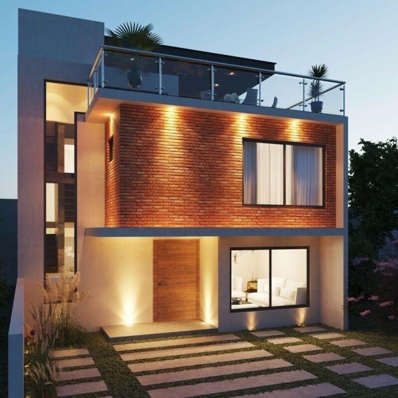 1 de 12: Hermosa y Moderna casa Residencial - La Concepción - Pachuca