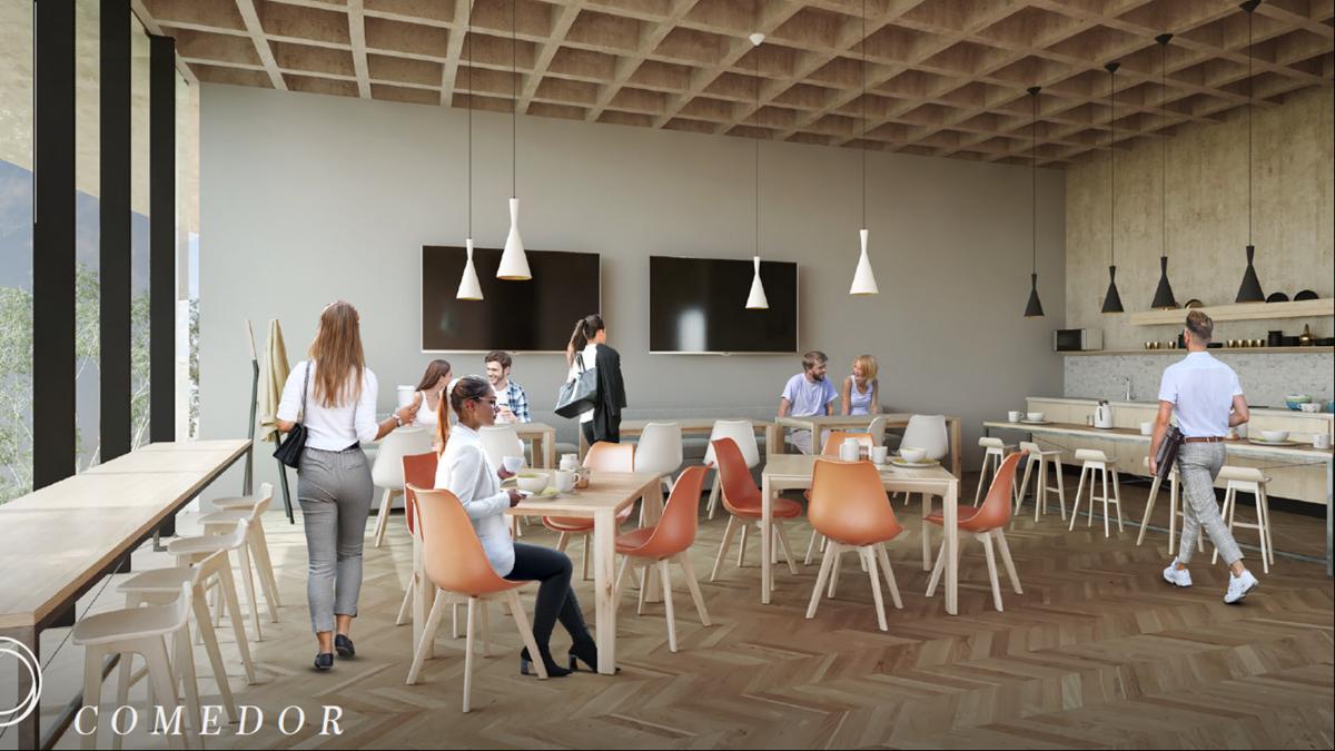 5 de 10: Comedor para oficinas en Ohrus
