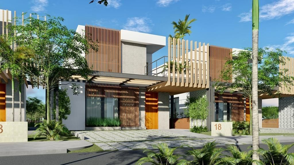 6 de 8: Villa Tipo B exterior