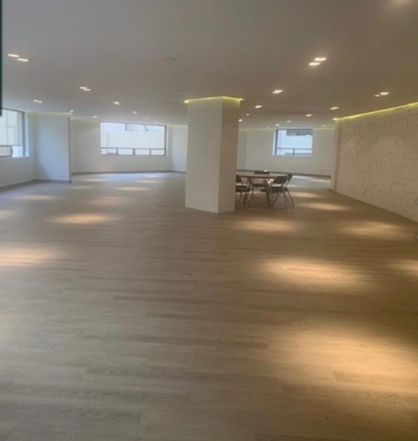 13 de 14: Salón de usos múltiples, recién remodelado.