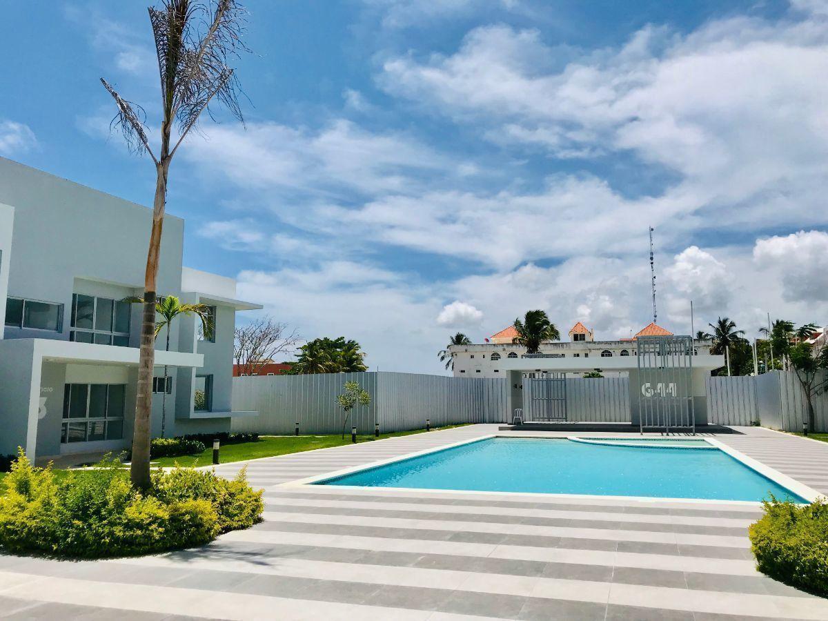 31 de 34: Apartamentos en venta punta cana 1 dormitorio vista jardín