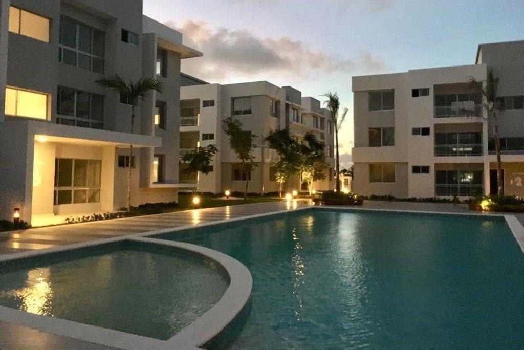 32 de 34: Apartamentos en venta punta cana 1 dormitorio vista jardín