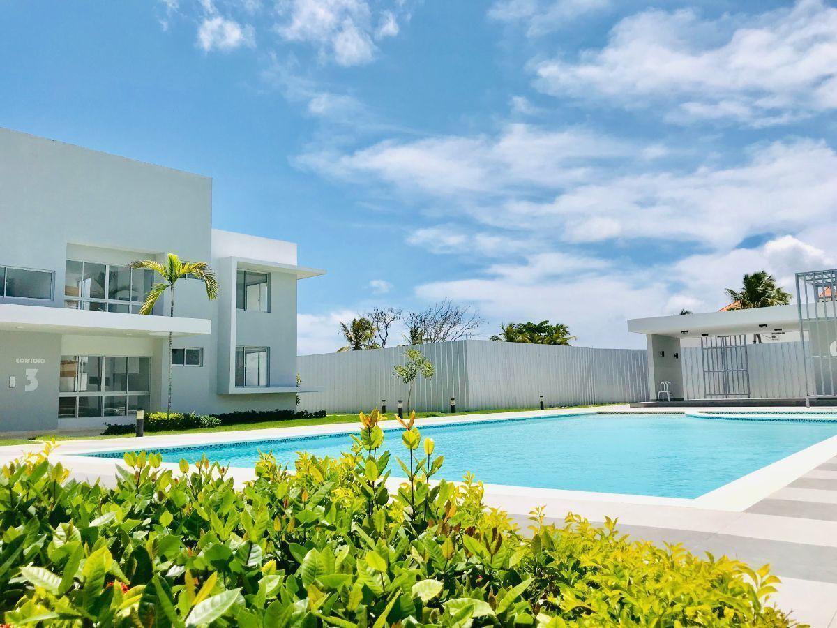 24 de 34: Apartamentos en venta punta cana 1 dormitorio vista jardín