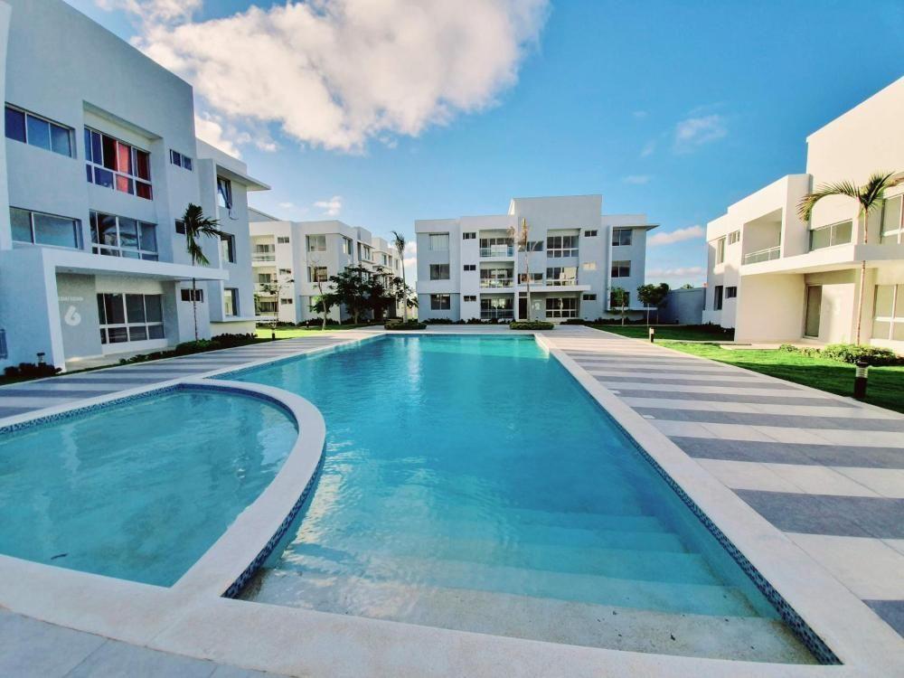 4 de 34: Apartamentos en venta punta cana 1 dormitorio vista jardín