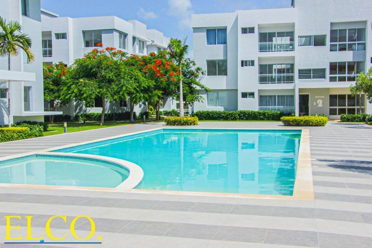 3 de 34: Apartamentos en venta punta cana 1 dormitorio vista jardín