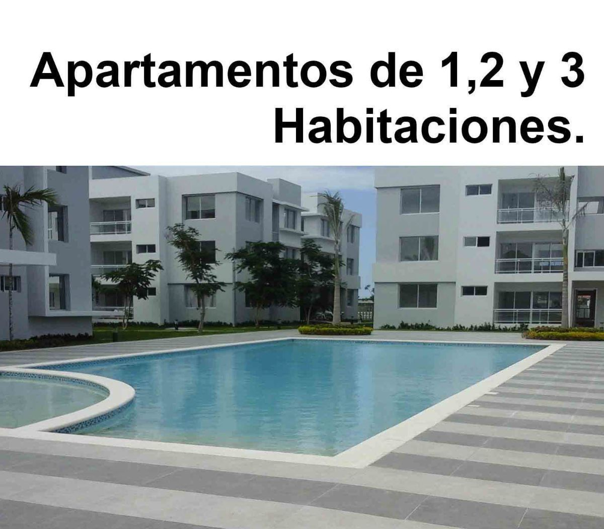 16 de 34: Apartamentos de 2 dormitorios nuevos punta cana