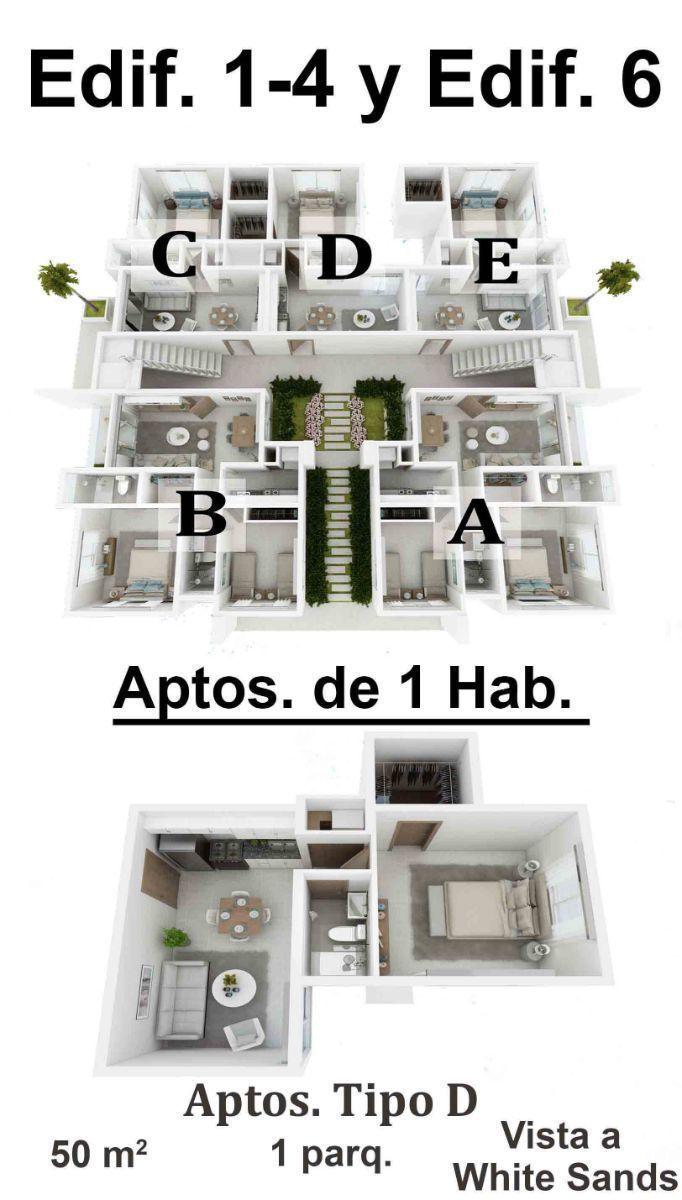 18 de 34: Apartamentos de 2 dormitorios nuevos punta cana