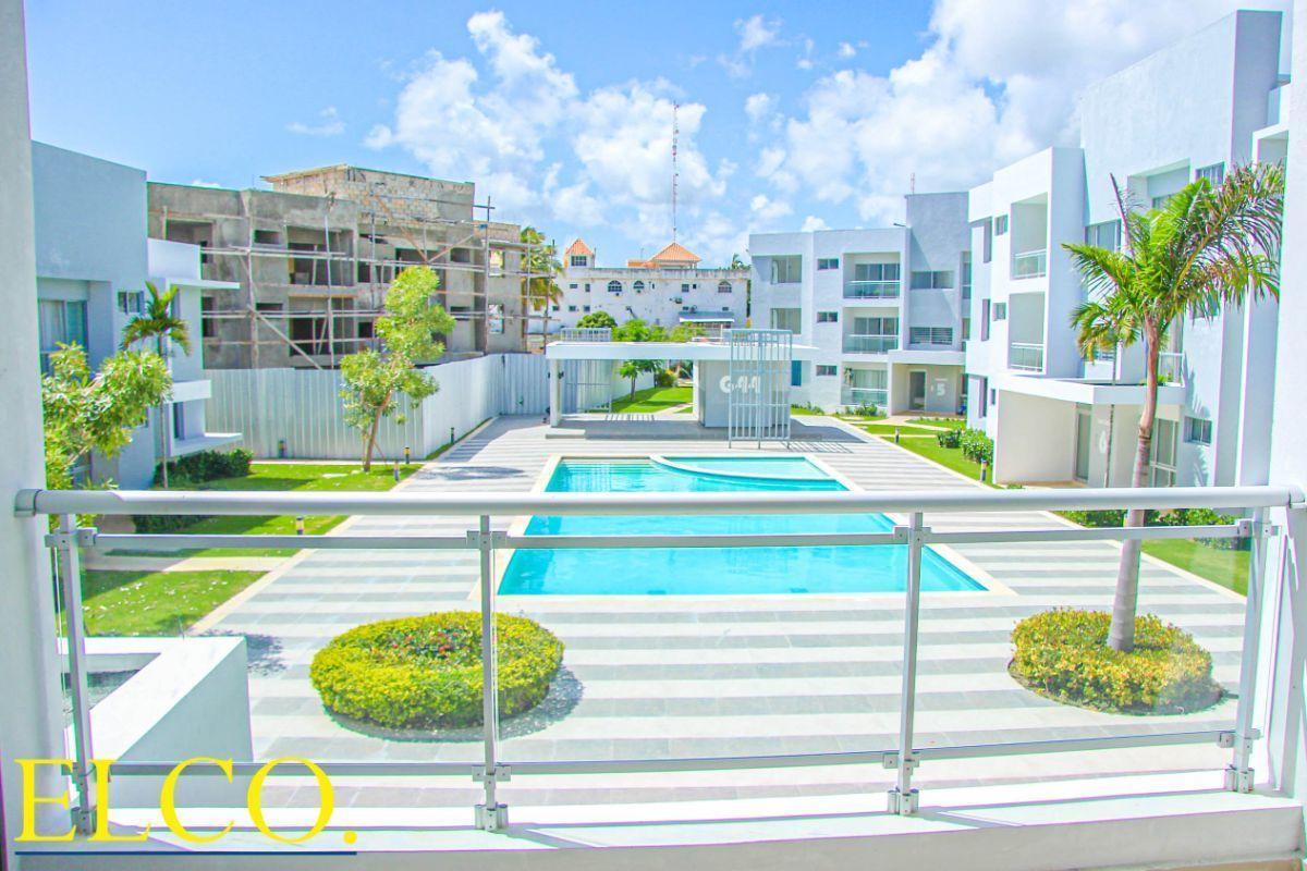 1 de 34: Apartamentos de 2 dormitorios nuevos punta cana