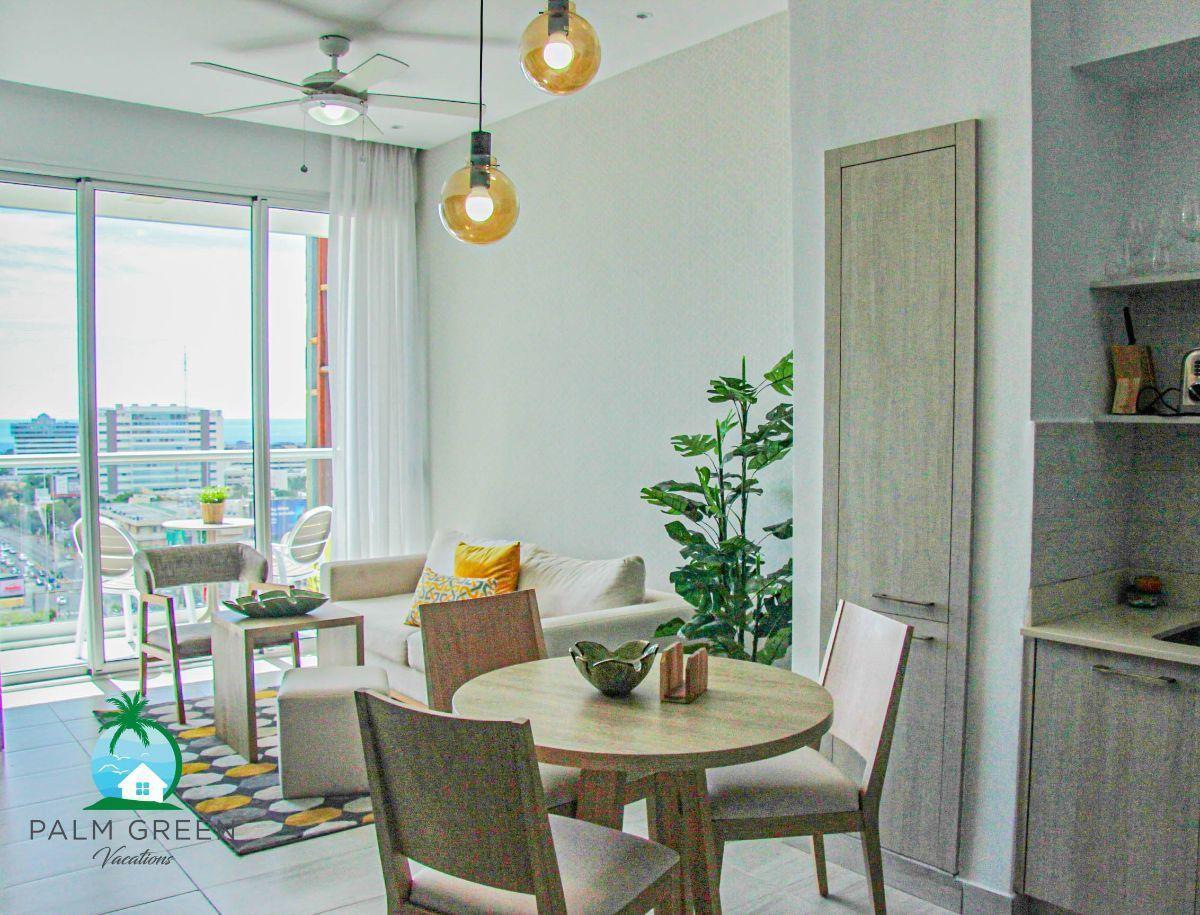 15 de 50: Apartamento alquiler vacacional 1 dormitorio con piscina