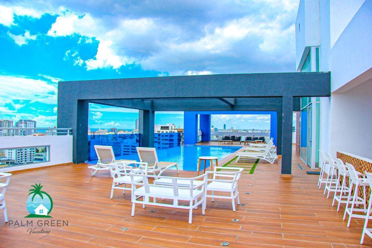 45 de 50: Apartamento alquiler vacacional 1 dormitorio con piscina