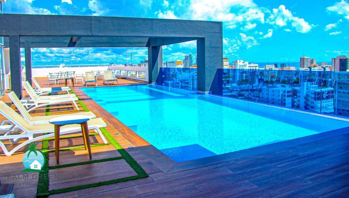 50 de 50: Apartamento alquiler vacacional 1 dormitorio con piscina