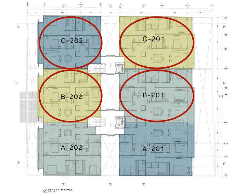 11 de 20: Departamentos disponibles P2 (piso 2)