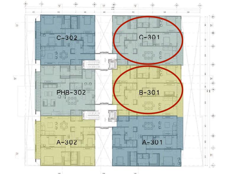 15 de 20: Departamentos disponibles P3 (piso 3)