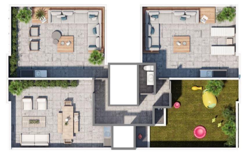 3 de 11: Roof garden y área pet friendly